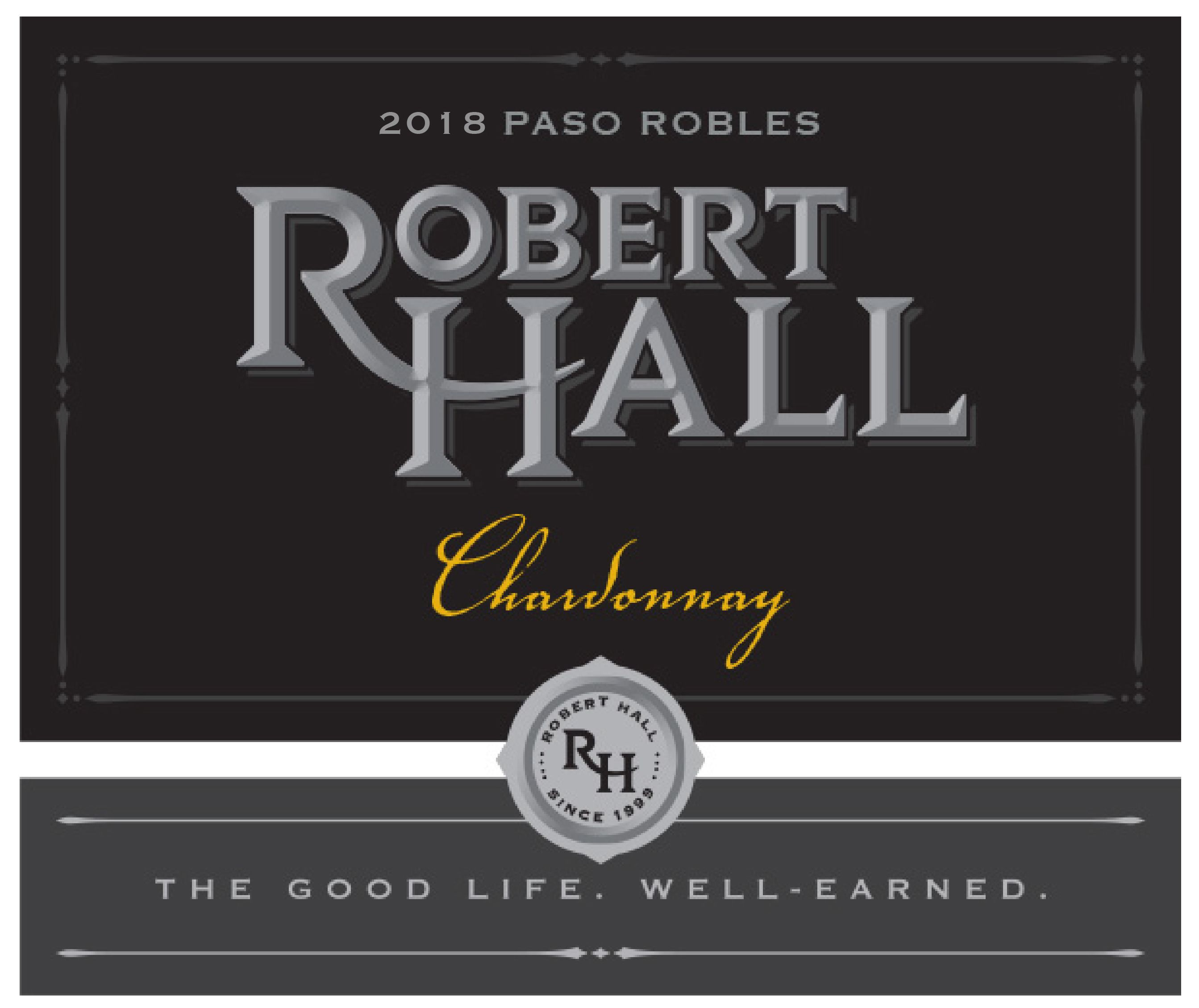 Robert Hall Chardonnay 2018  Front Label