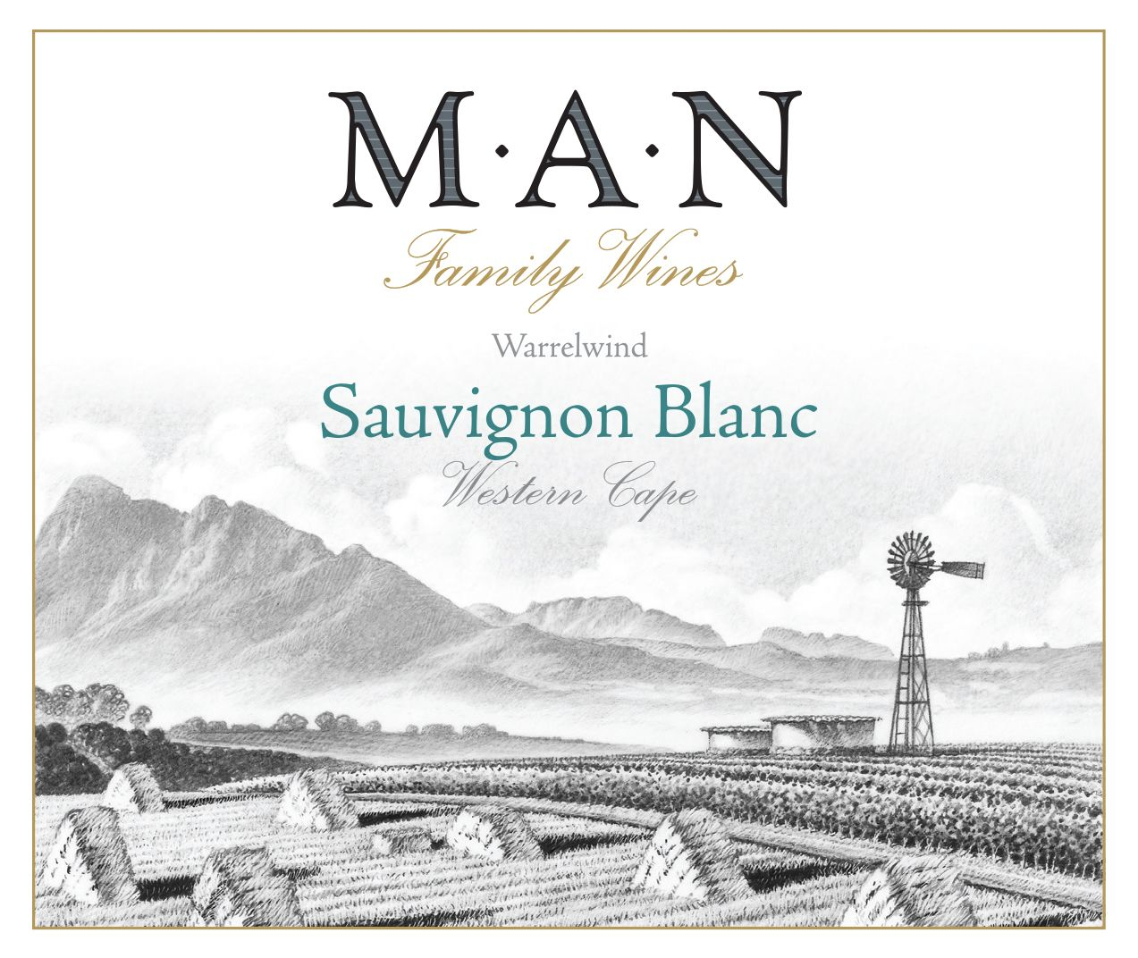 MAN Family Wines Sauvignon Blanc 2019  Front Label