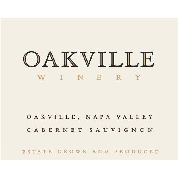 Oakville Winery Estate Cabernet Sauvignon 2016  Front Label