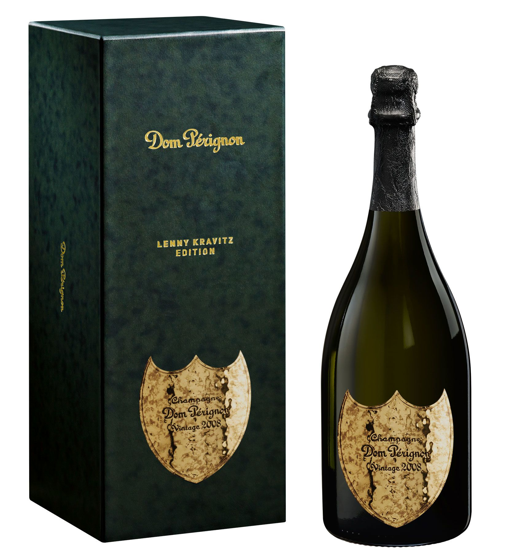 Dom Perignon Vintage Lenny Kravitz Limited Edition with Gift Box 2008  Gift Product Image