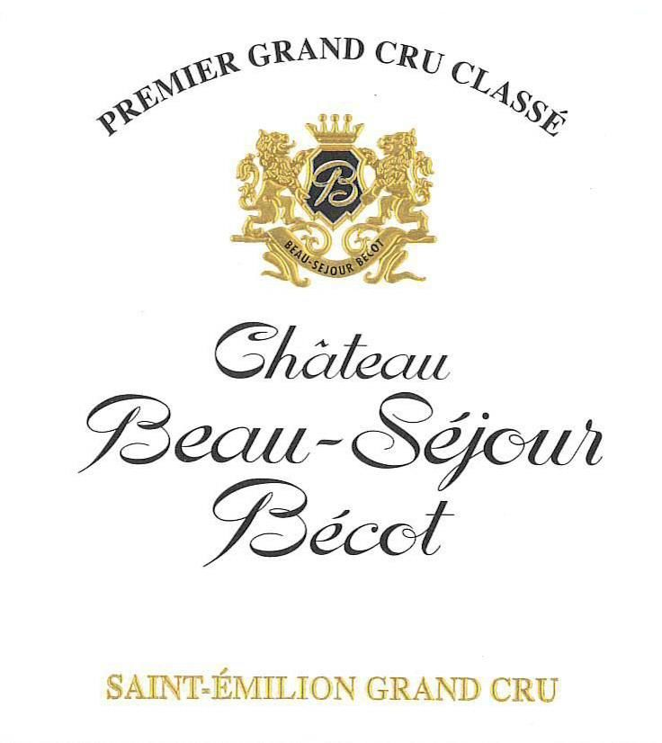 Chateau Beau-Sejour Becot (Futures Pre-Sale) 2018  Front Label