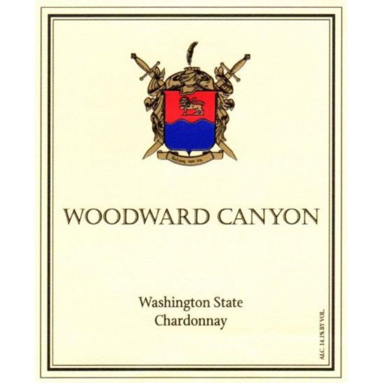Woodward Canyon Chardonnay 2018  Front Label