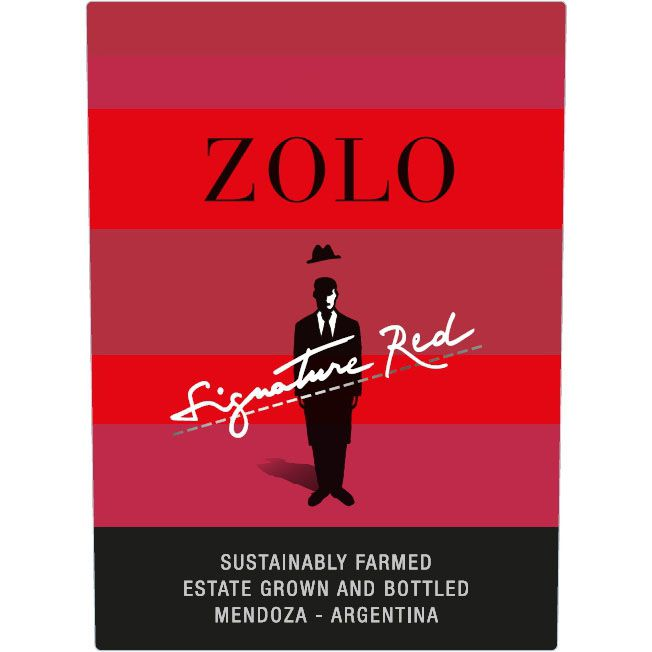 Zolo Signature Red Blend 2018  Front Label