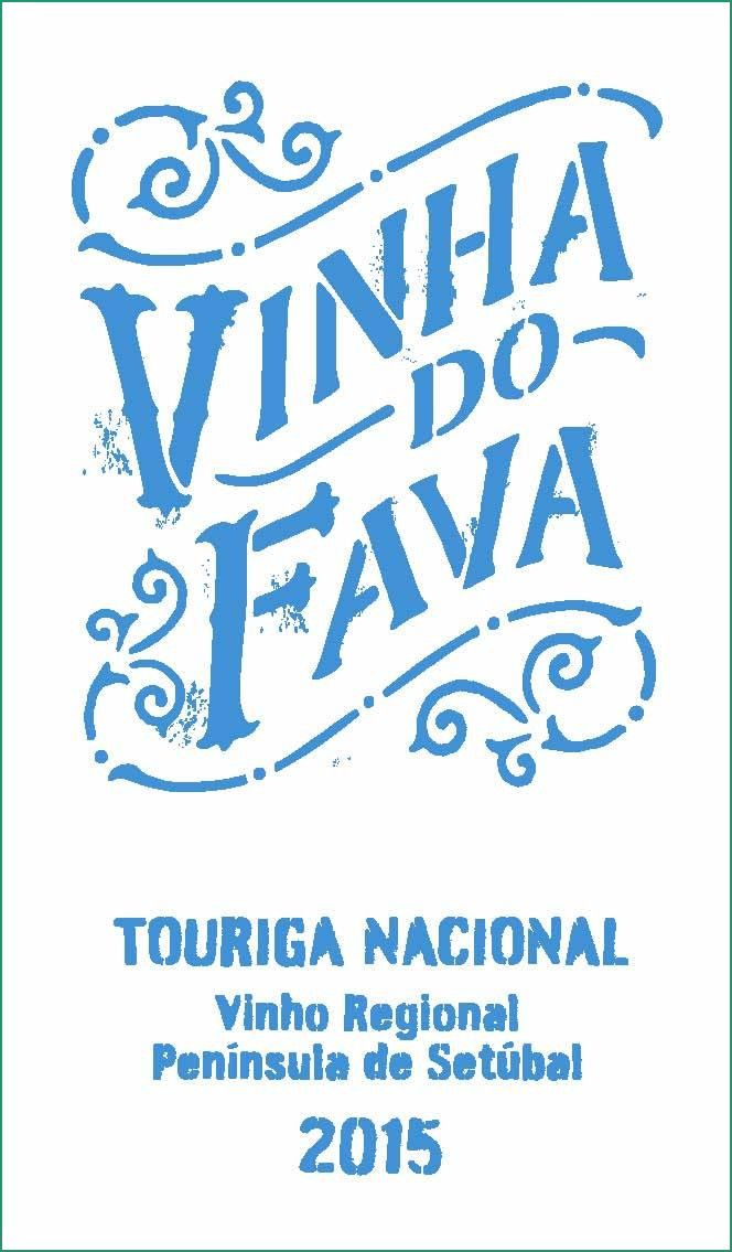 Vinha Do Fava Touriga Nacional 2015  Front Label