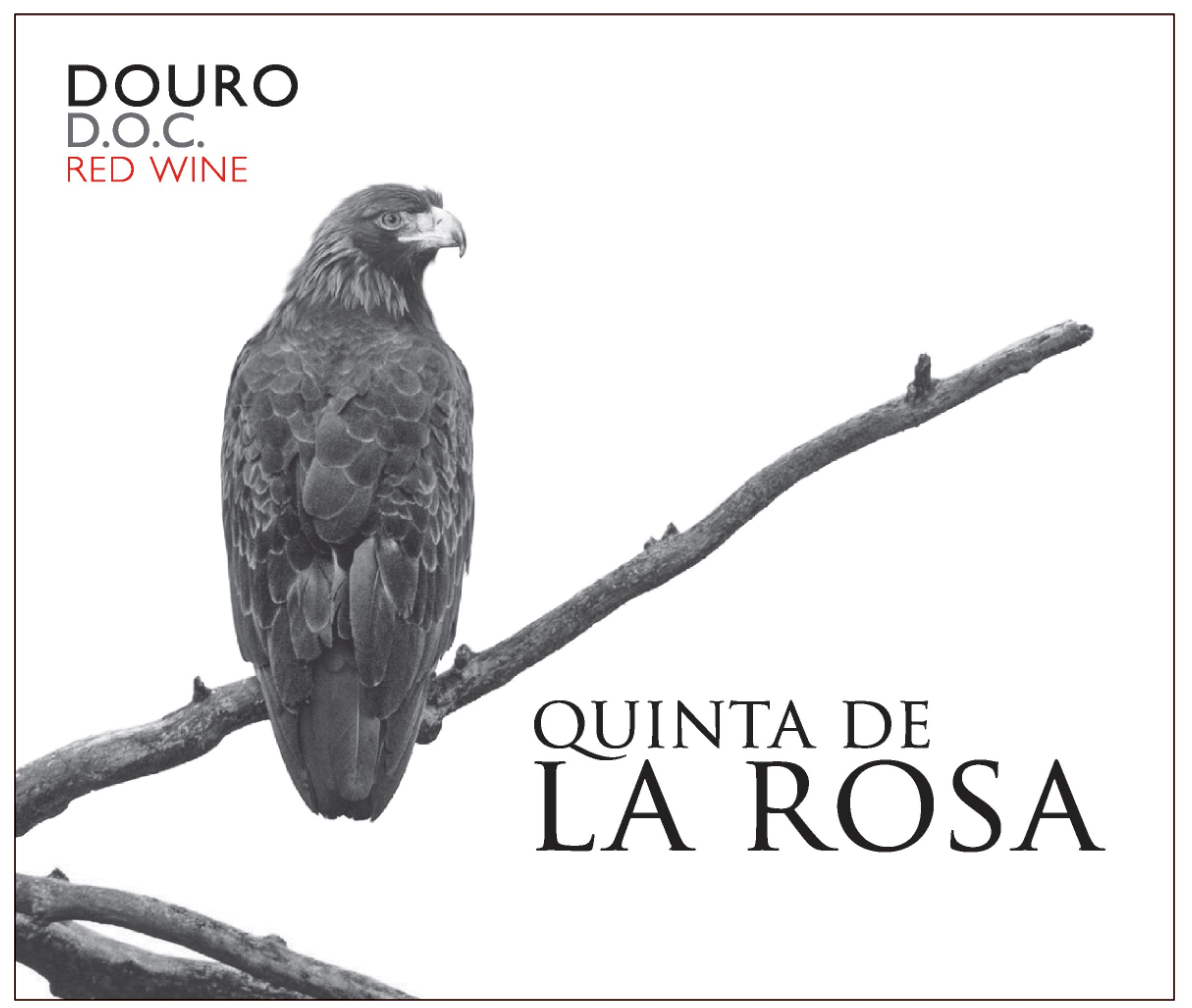 Quinta de la Rosa Estate Red 2018  Front Label