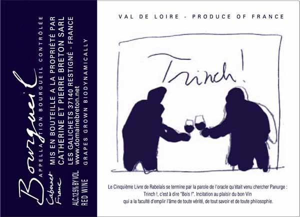 Catherine & Pierre Breton Trinch! 2017 Front Label