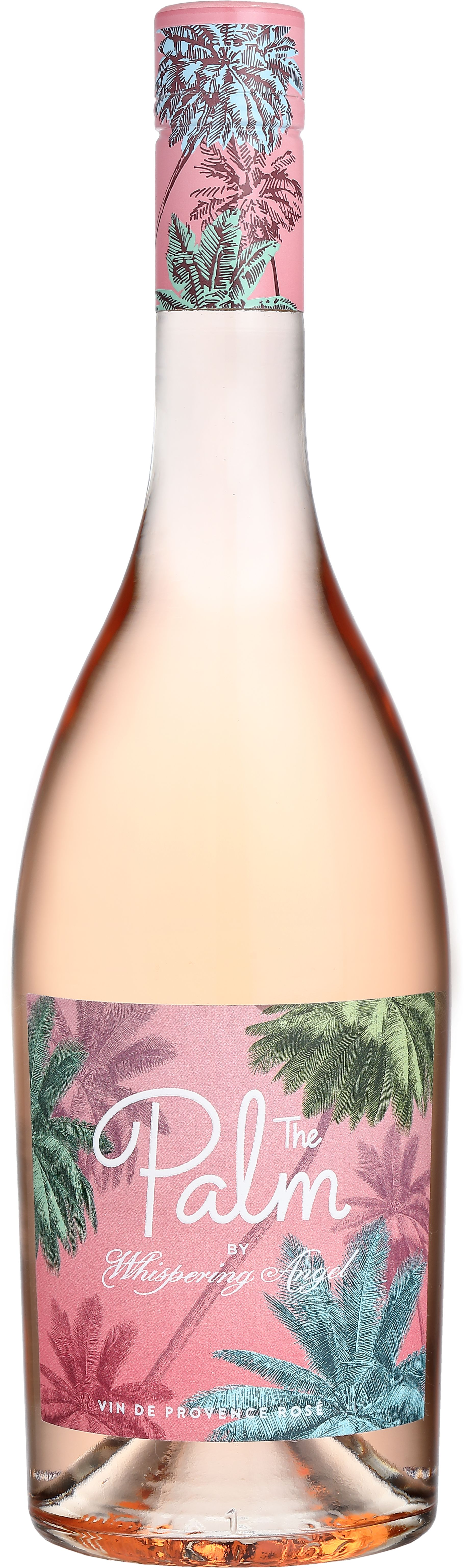 The Palm by Whispering Angel Rose 2018  Front Bottle Shot