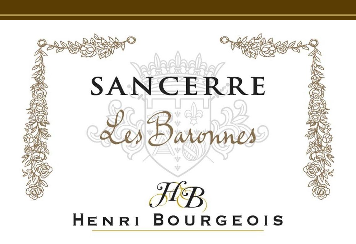 Henri Bourgeois Sancerre Les Baronnes Blanc (375ML half-bottle) 2018  Front Label