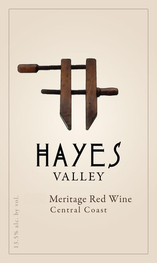 Hayes Valley Meritage 2016 Front Label
