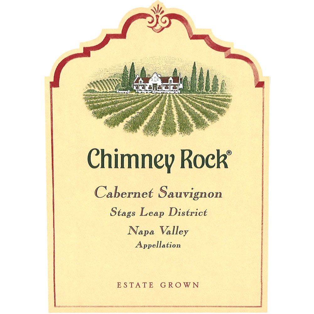 Chimney Rock Stags Leap District Cabernet Sauvignon 2017  Front Label