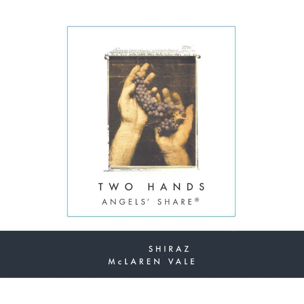 Two Hands Angels' Share Shiraz 2018  Front Label