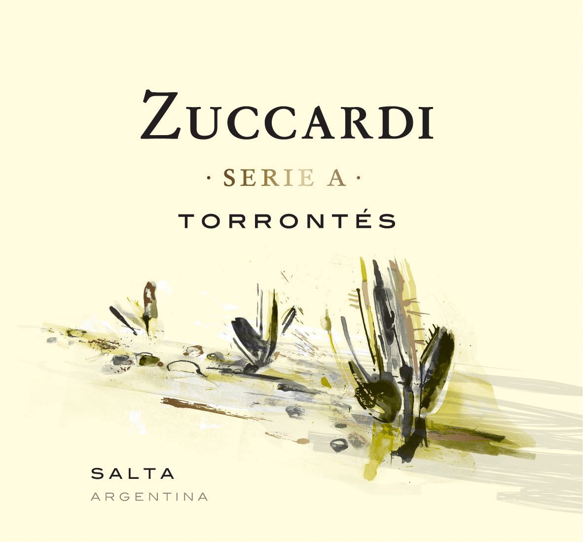 Zuccardi Serie A Torrontes 2019  Front Label