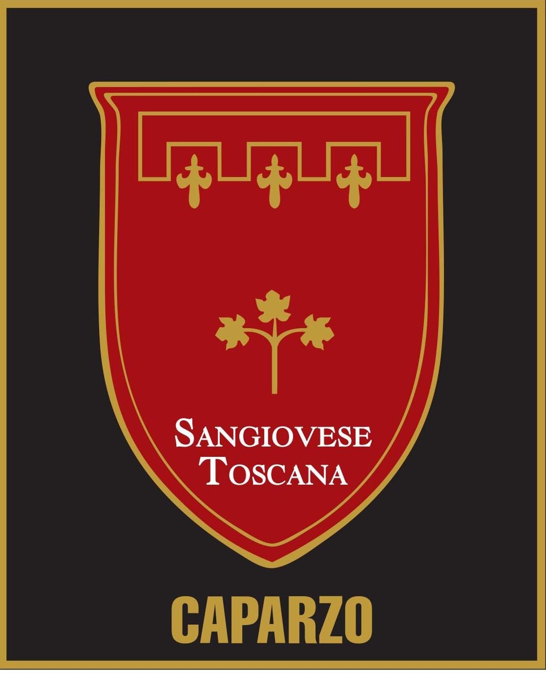 Caparzo Sangiovese 2019  Front Label