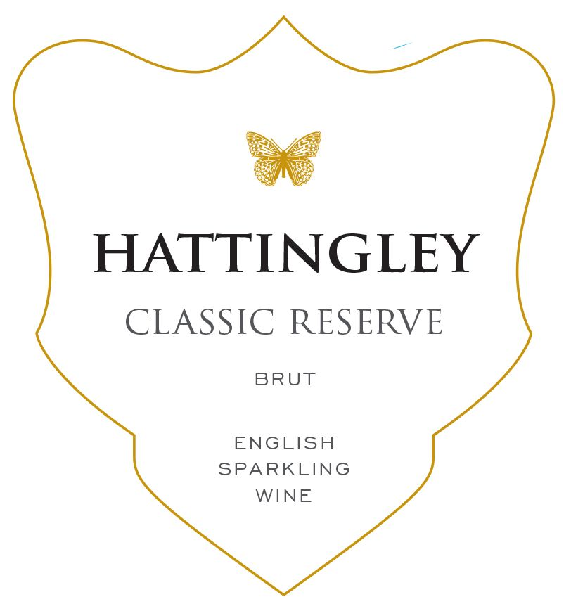 Hattingley Valley Classic Reserve Front Label