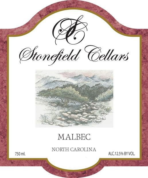 Stonefield Cellars Malbec 2010 Front Label