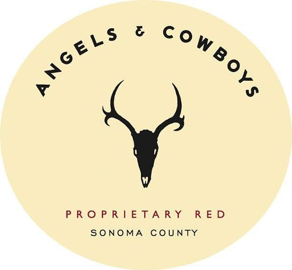 Angels & Cowboys Proprietary Red 2017  Front Label