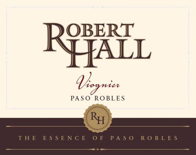 Robert Hall Viognier 2017 Front Label