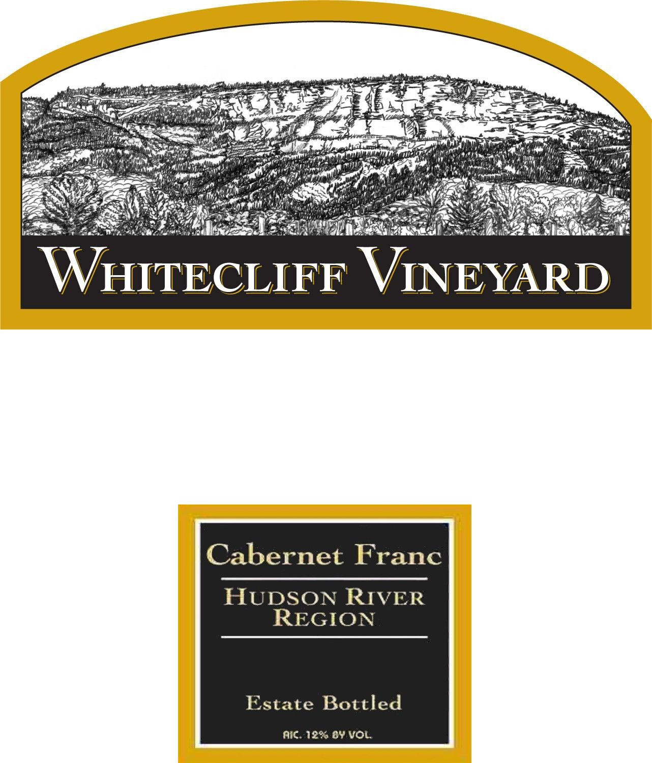 Whitecliff Vineyard & Winery Cabernet Franc 2014 Front Label
