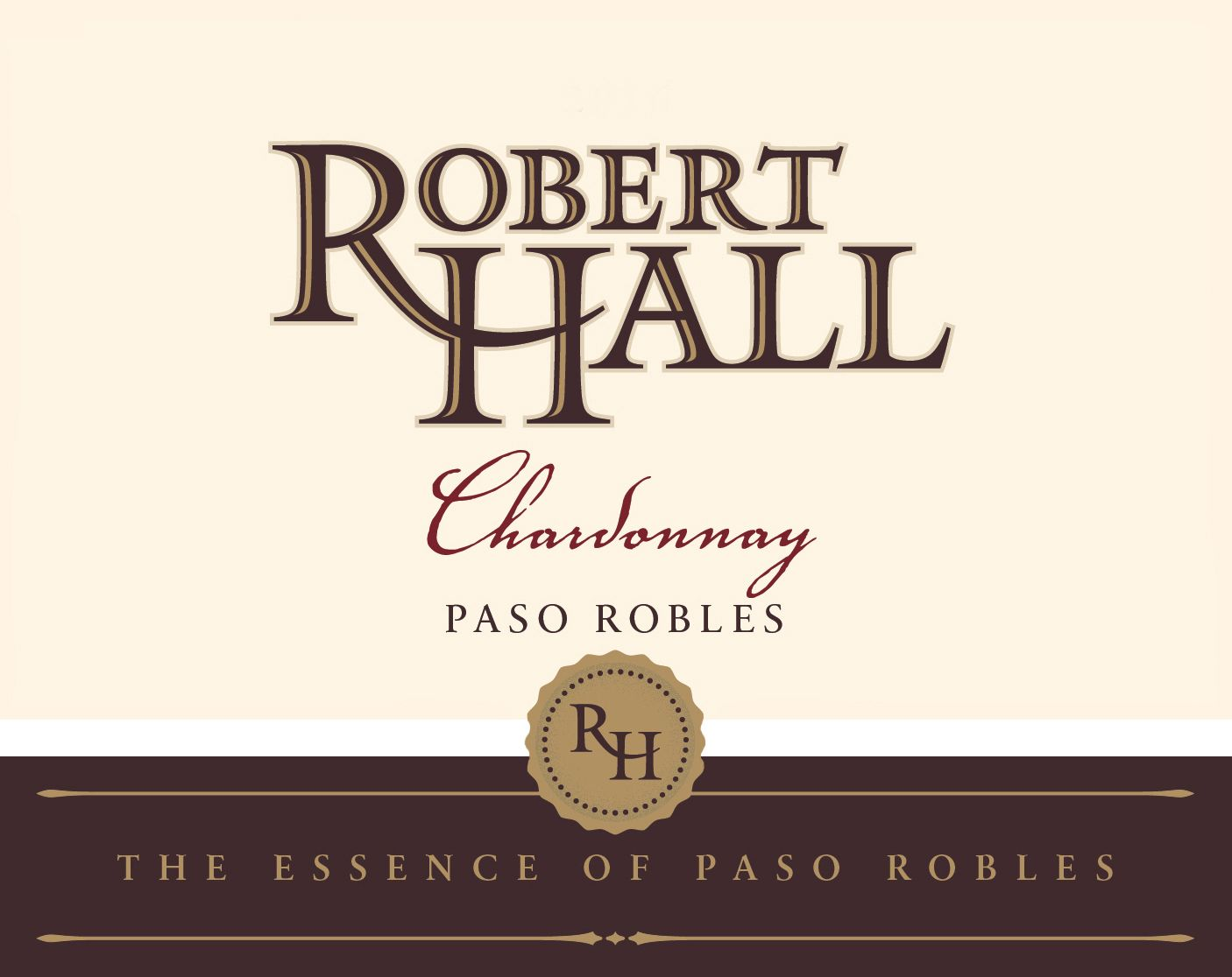 Robert Hall Chardonnay 2017  Front Label