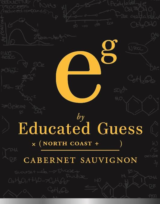 Roots Run Deep Educated Guess North Coast Cabernet Sauvignon 2017  Front Label