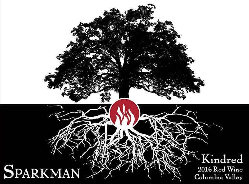 Sparkman Kindred Red 2016 Front Label