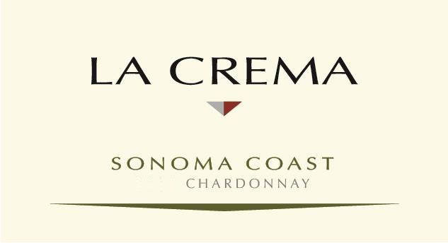 La Crema Sonoma Coast Chardonnay (375ML half-bottle) 2017 Front Label