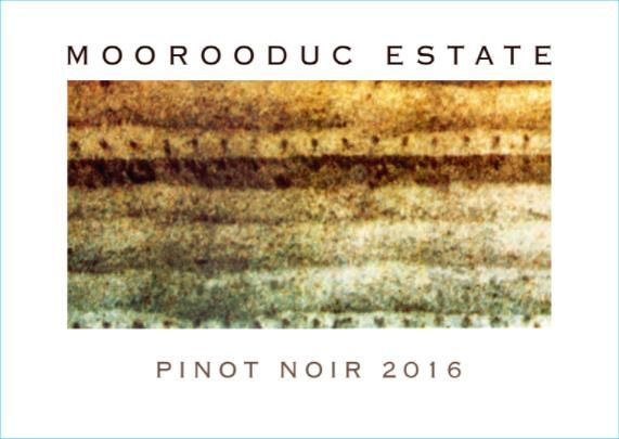Moorooduc Estate Pinot Noir 2016 Front Label