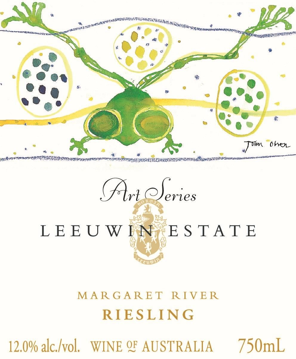 Leeuwin Estate Art Series Riesling 2018  Front Label