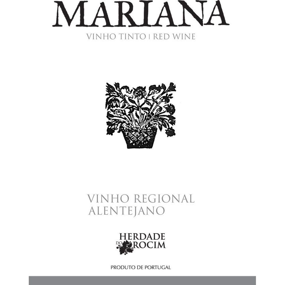 Herdade do Rocim Mariana Tinto 2018  Front Label