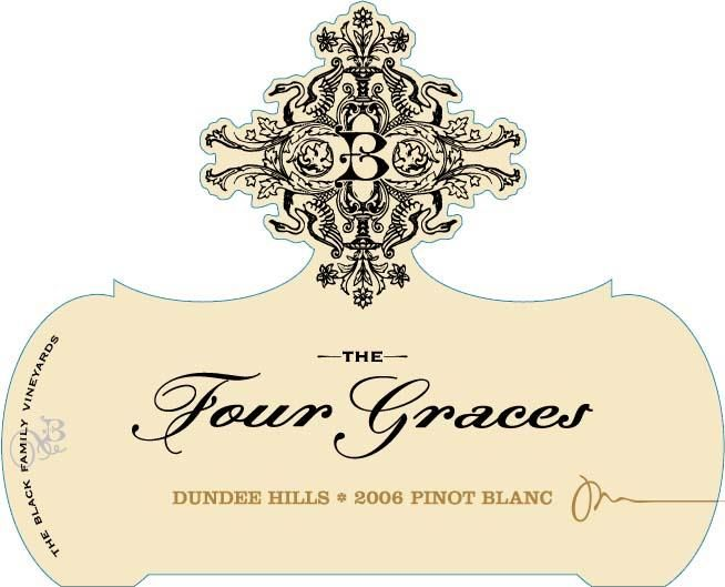 Four Graces Pinot Blanc 2006  Front Label