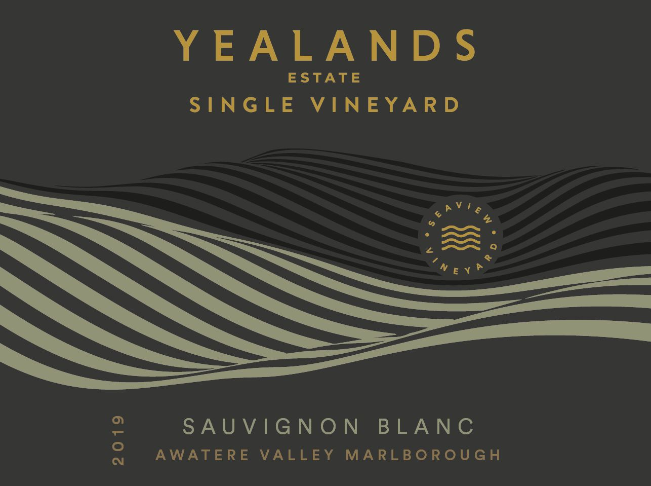 Yealands Estate Single Vineyard Sauvignon Blanc 2019  Front Label