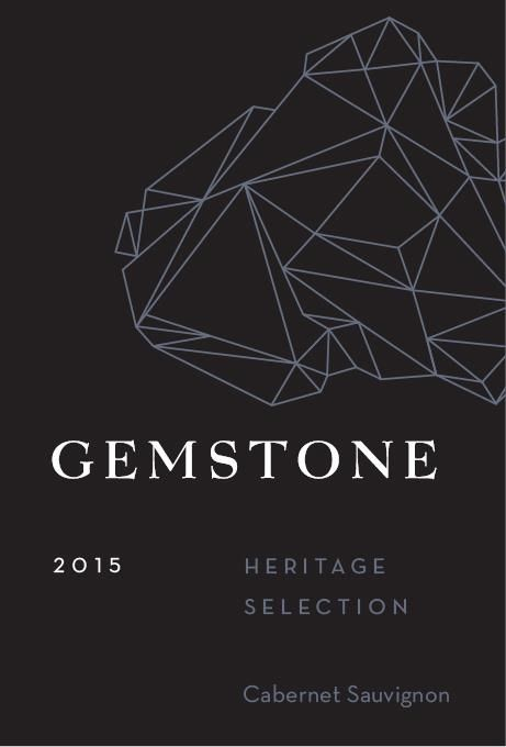 Gemstone Vineyard Heritage Selection Cabernet Sauvignon 2015 Front Label
