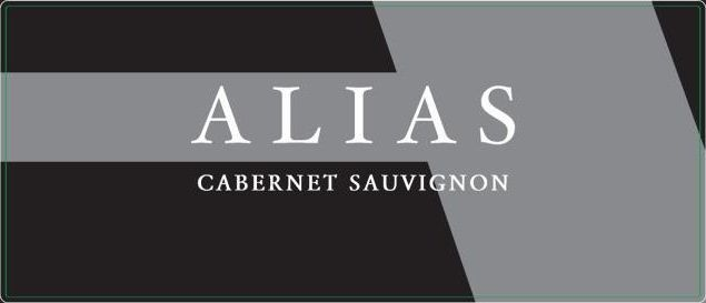 Alias Winery Cabernet Sauvignon 2019  Front Label