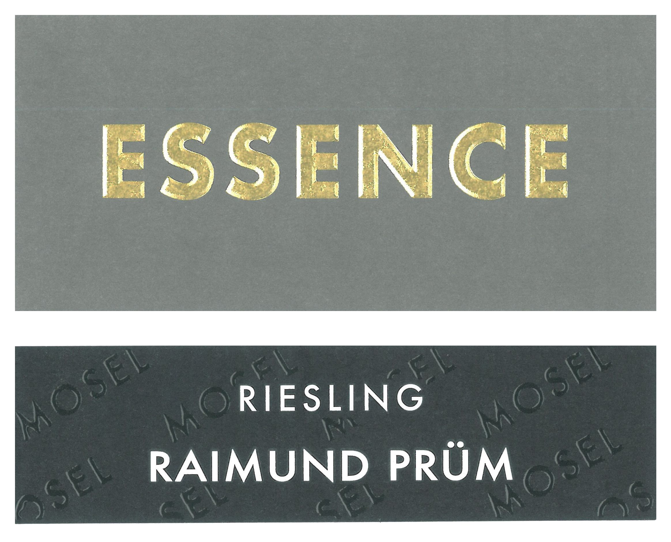 S.A. Prum Essence Riesling 2019  Front Label