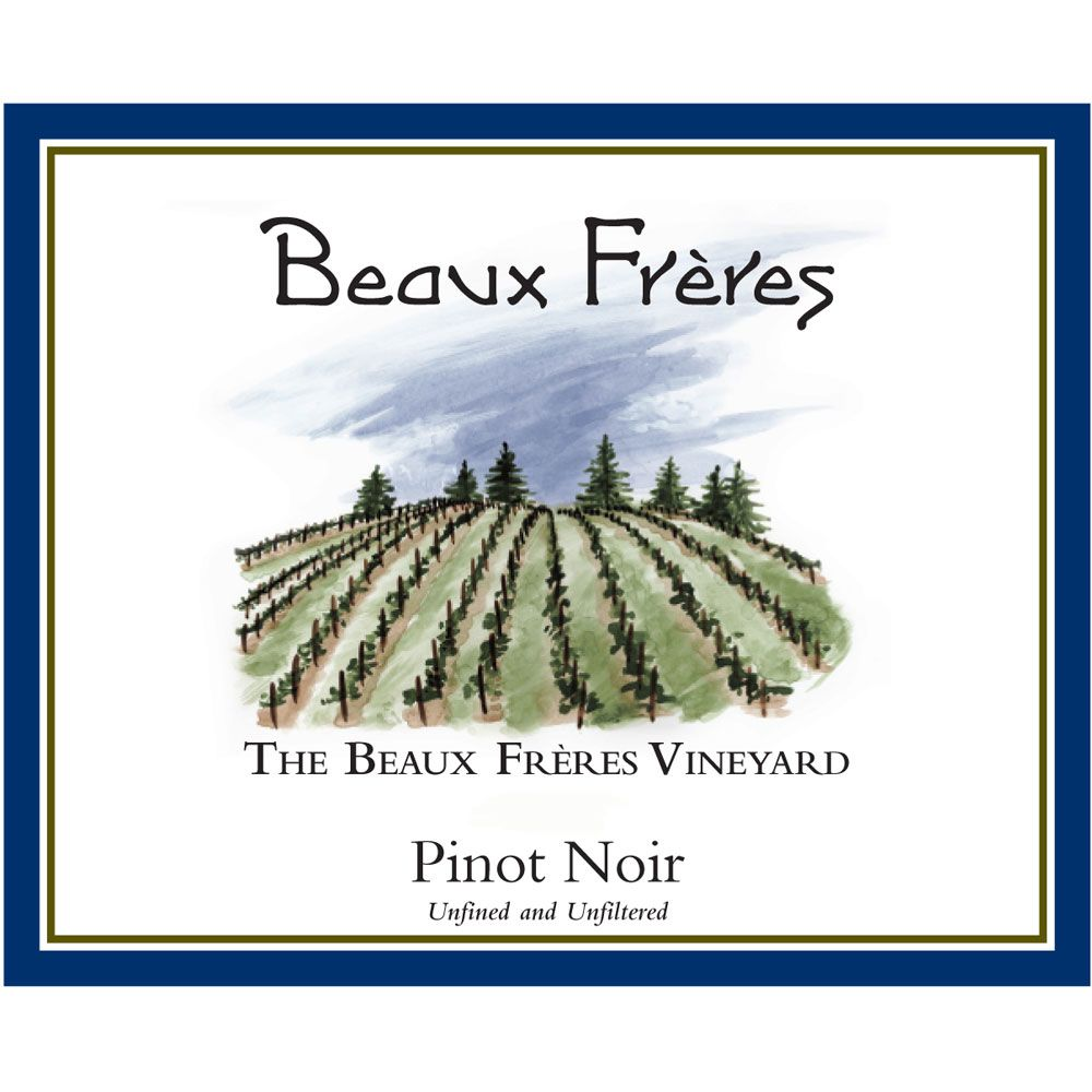 Beaux Freres The Beaux Freres Vineyard Pinot Noir 2018  Front Label