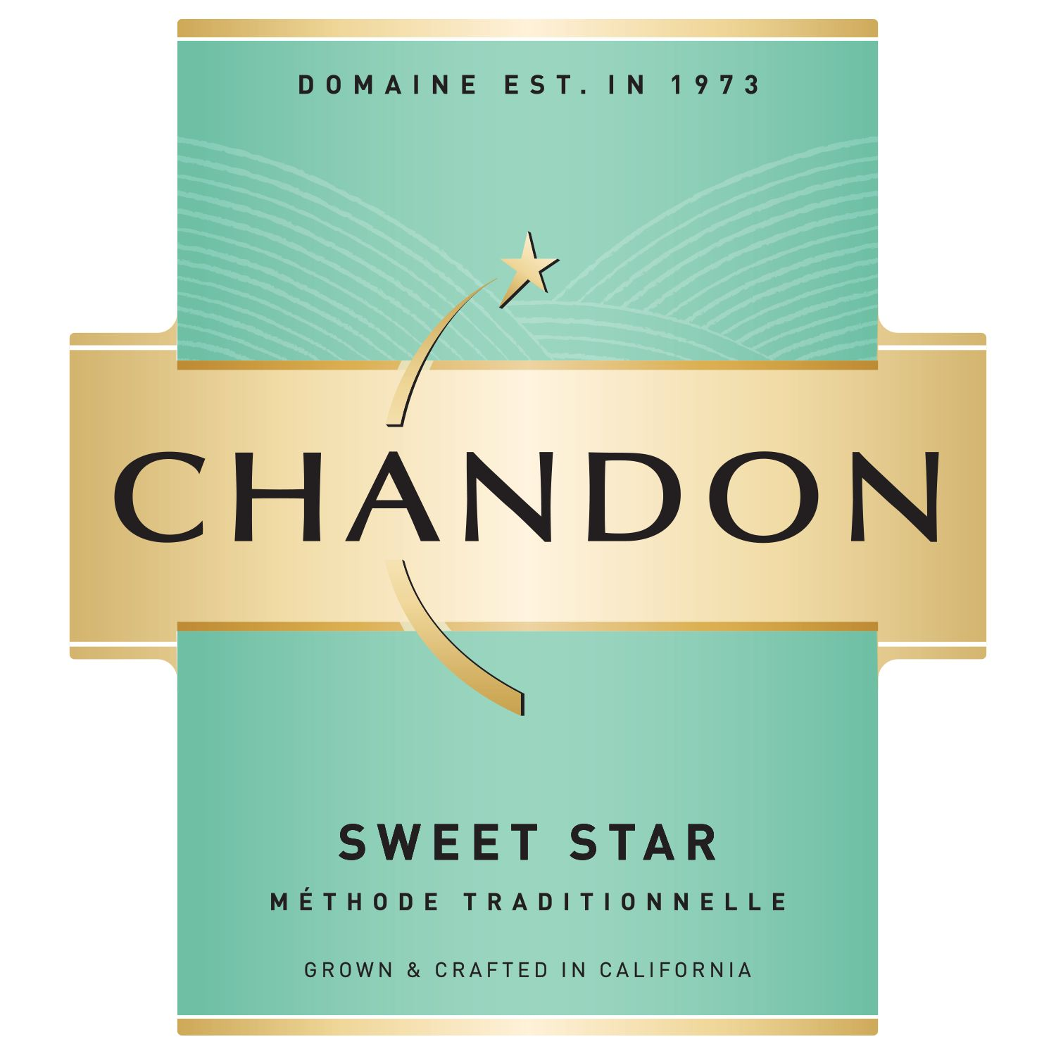 Chandon Sweet Star  Front Label