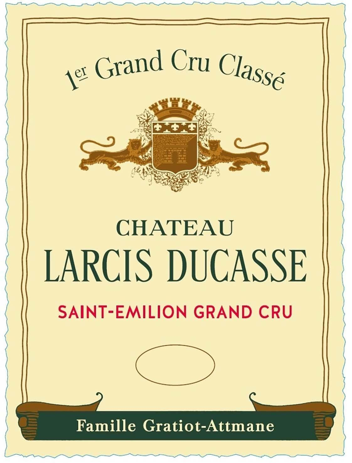 Chateau Larcis-Ducasse (Futures Pre-Sale) 2019  Front Label
