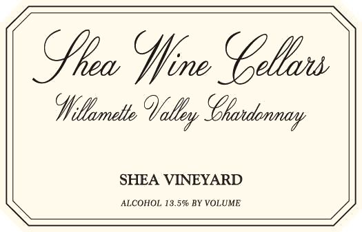 Shea Willamette Valley Chardonnay 2017  Front Label