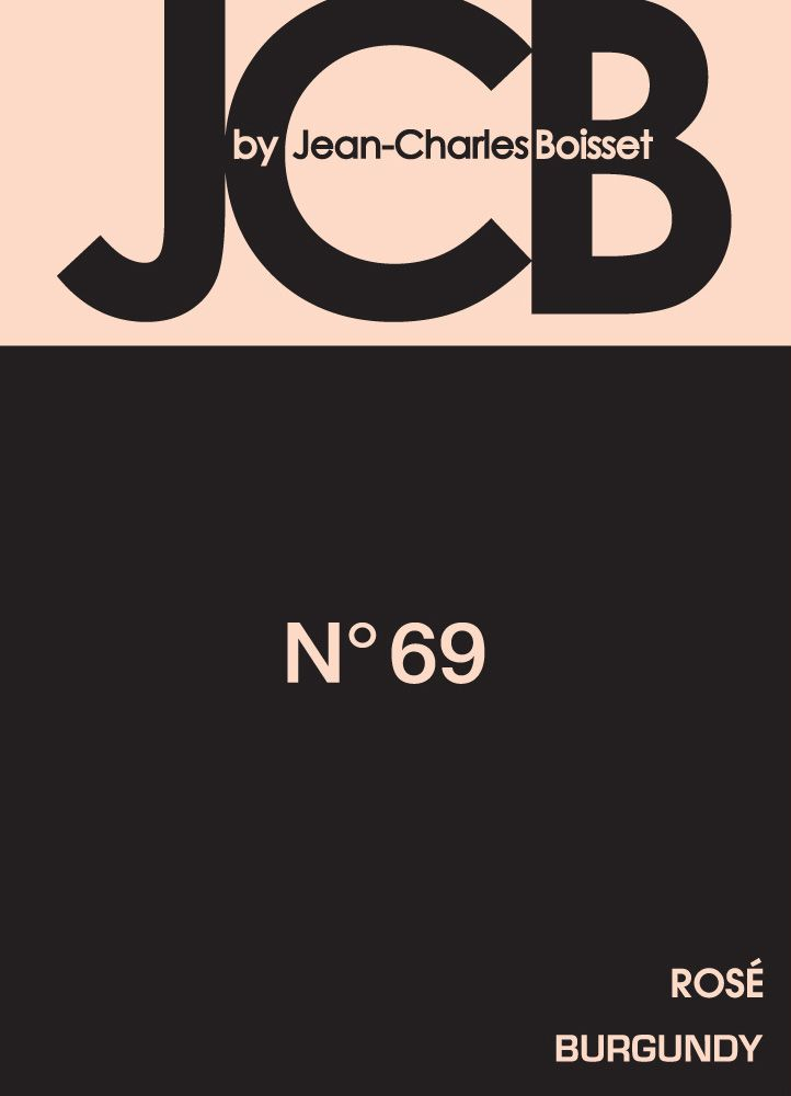 JCB No. 69 Brut Rose Cremant de Bourgogne  Front Label