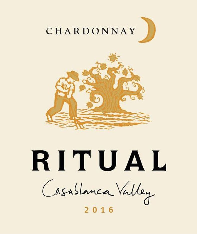 Ritual Casablanca Valley Chardonnay 2016 Front Label