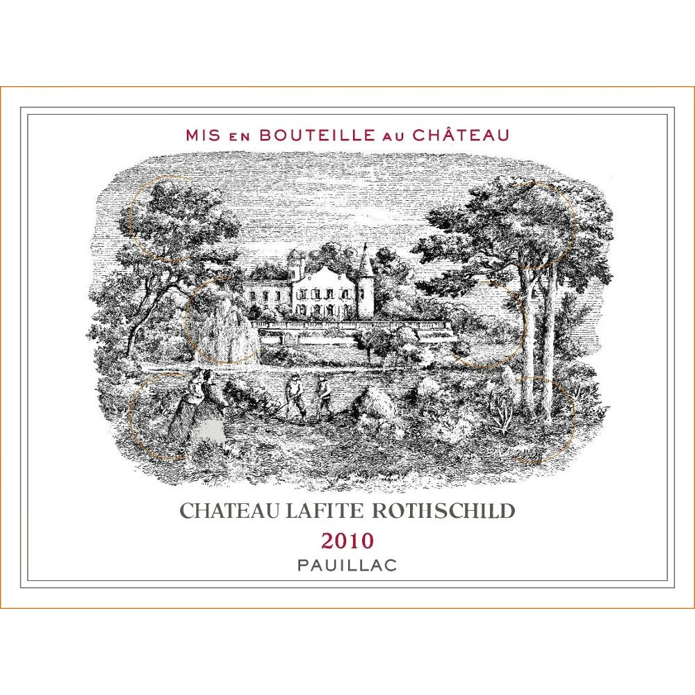 Chateau Lafite Rothschild (3 Liter Bottle) 2010 Front Label
