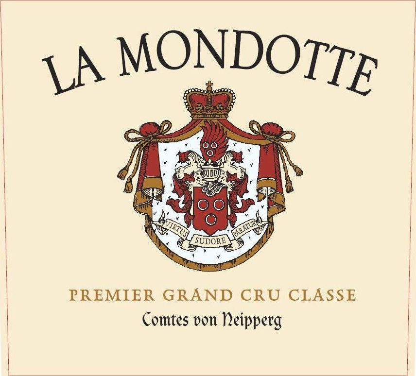 Chateau La Mondotte (Futures Pre-Sale) 2019  Front Label