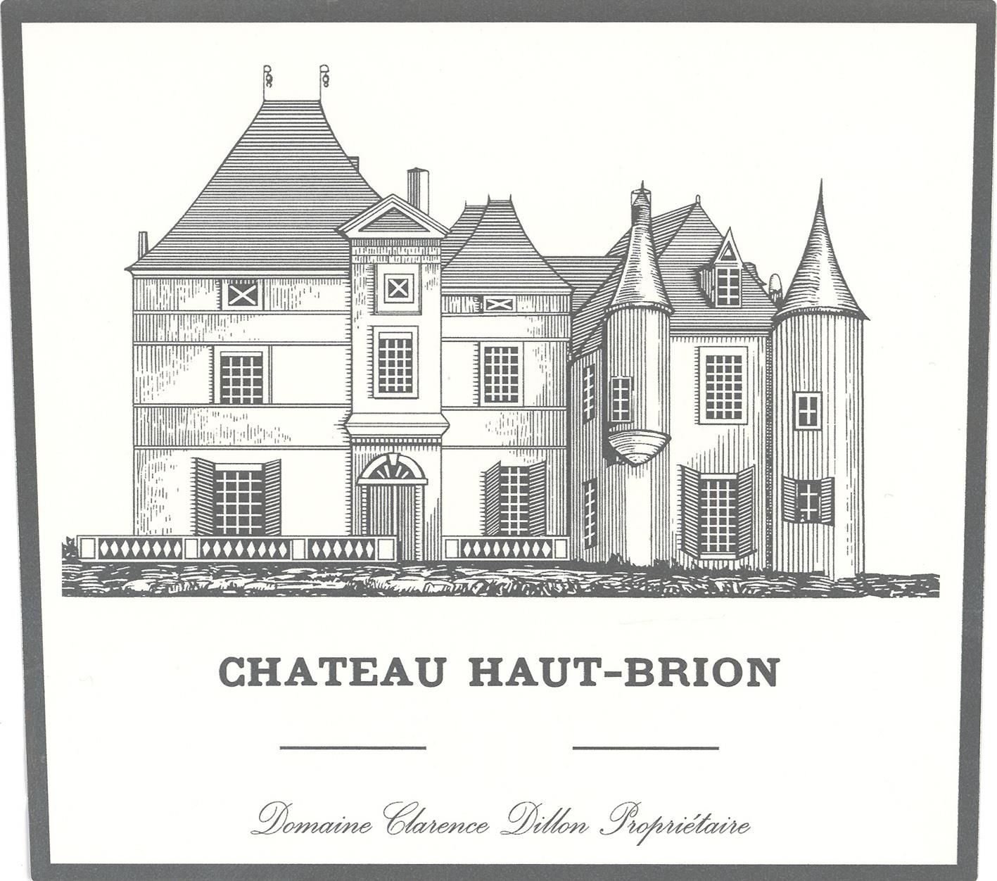Chateau Haut-Brion Blanc (Futures Pre-Sale) 2019  Front Label