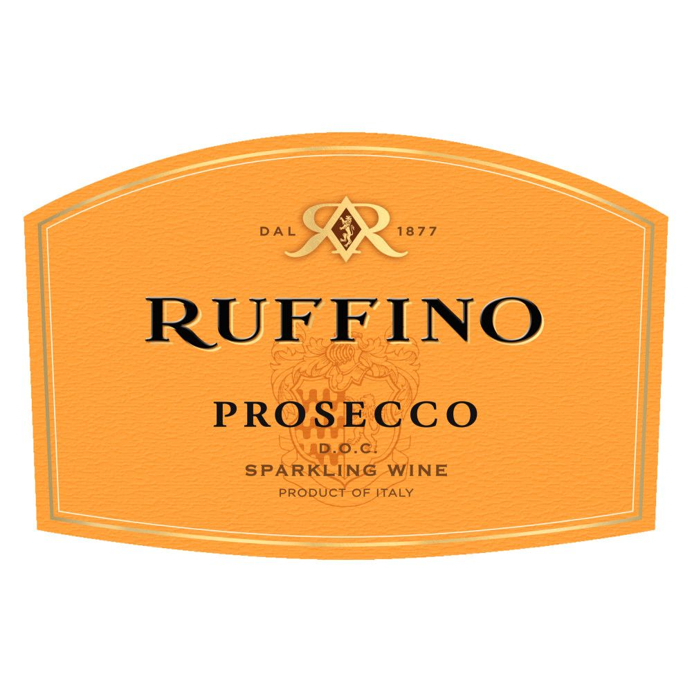Ruffino Prosecco (375ML half-bottle)  Front Label