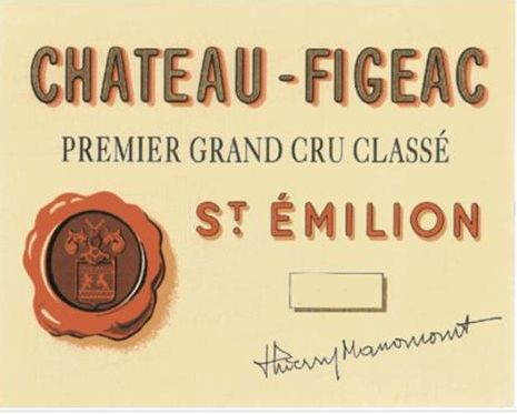 Chateau Figeac 6-Pack OWC (Futures Pre-Sale) 2019  Front Label