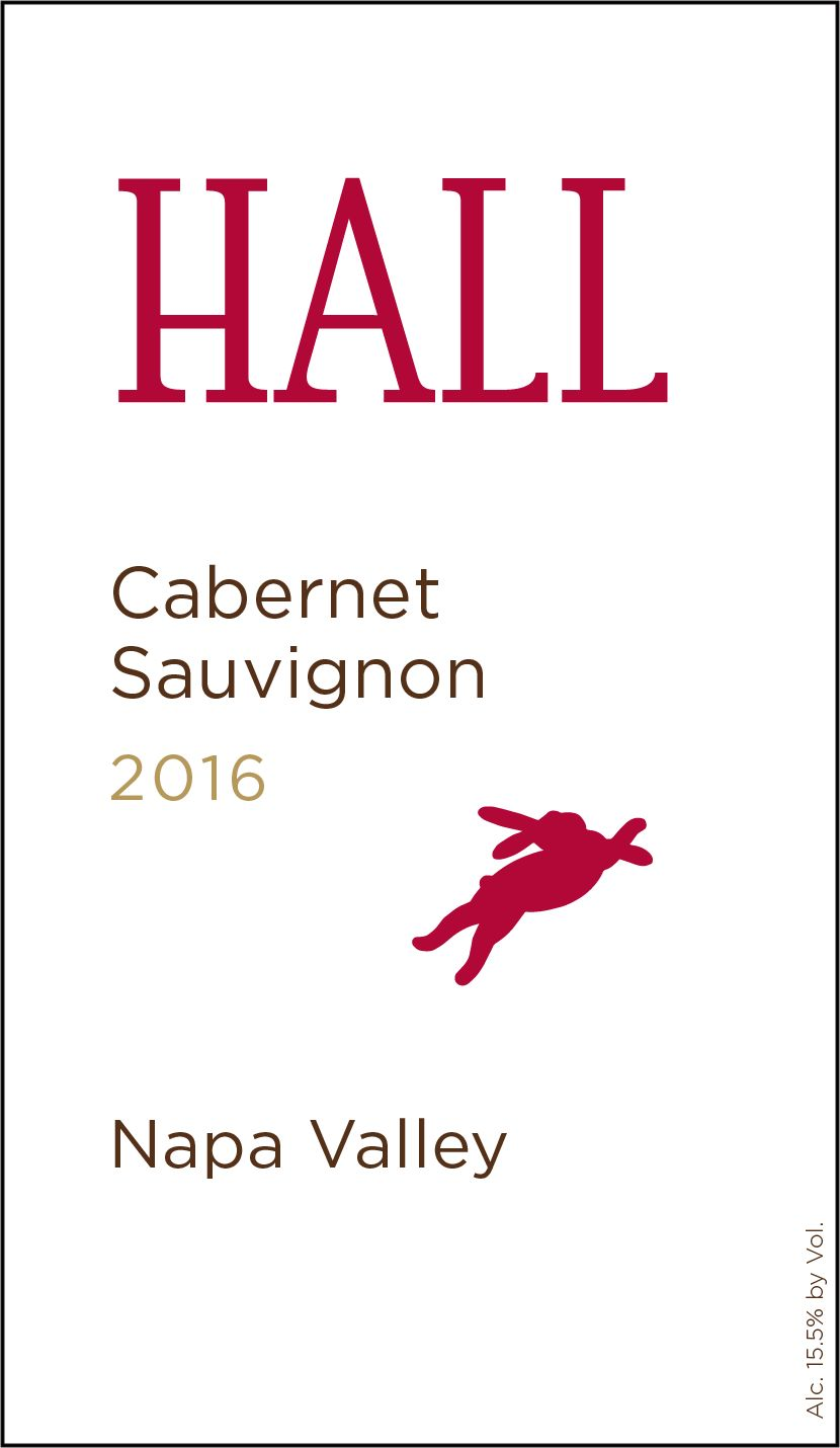 Hall Napa Valley Cabernet Sauvignon (375ML half-bottle) 2016  Front Label