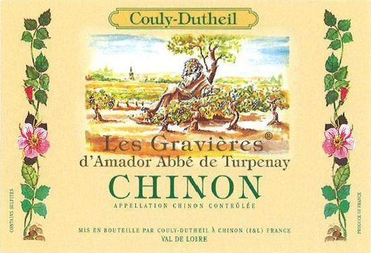 Couly-Dutheil Les Gravieres 2015  Front Label