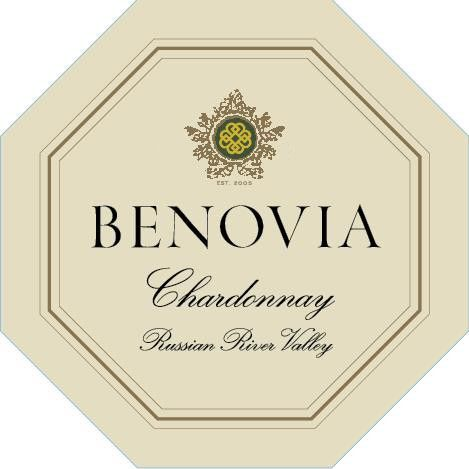 Benovia Russian River Chardonnay 2017 Front Label