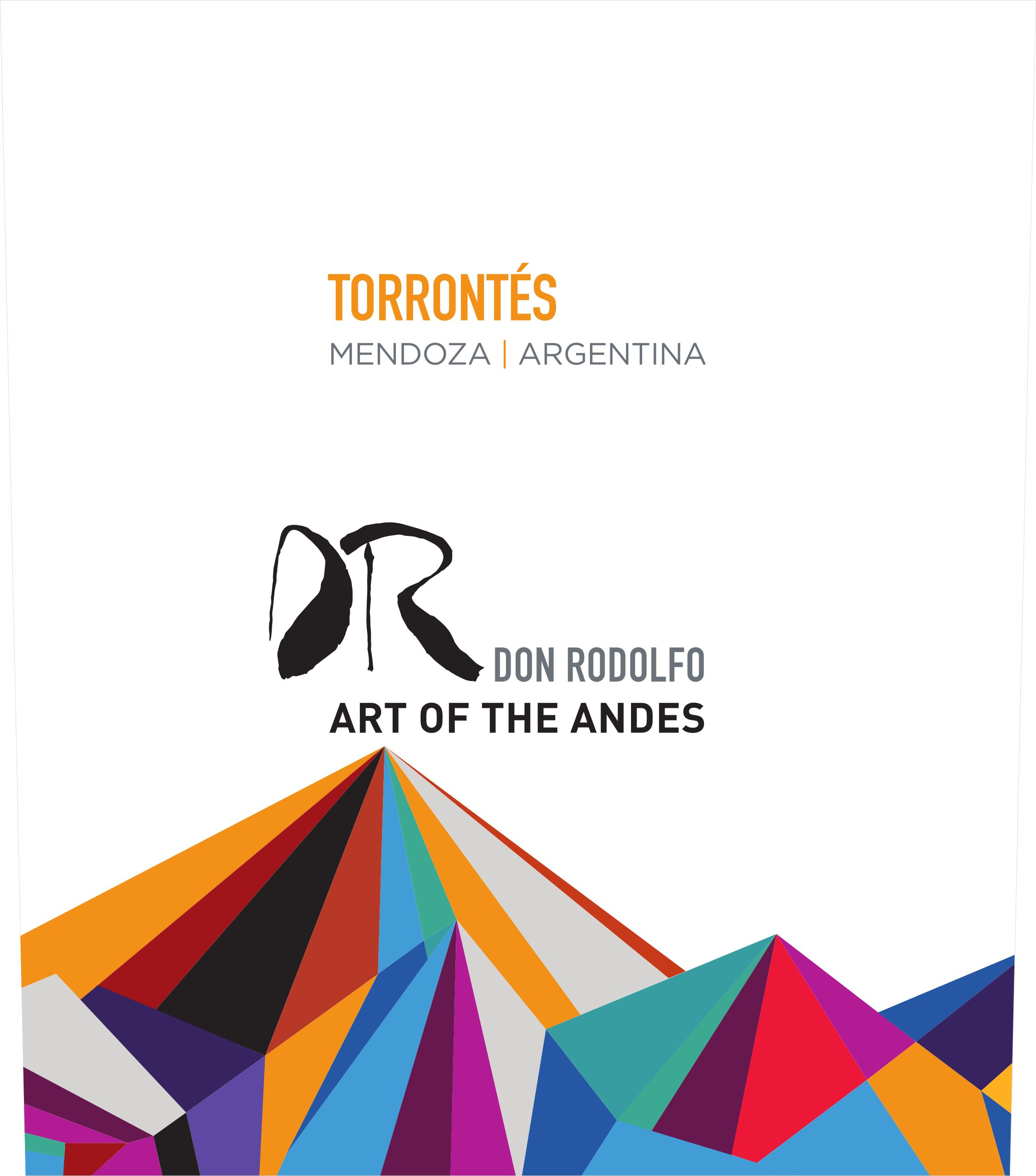Don Rodolfo Torrontes 2019  Front Label