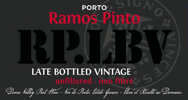 Ramos Pinto Late Bottled Vintage Port 2014  Front Label